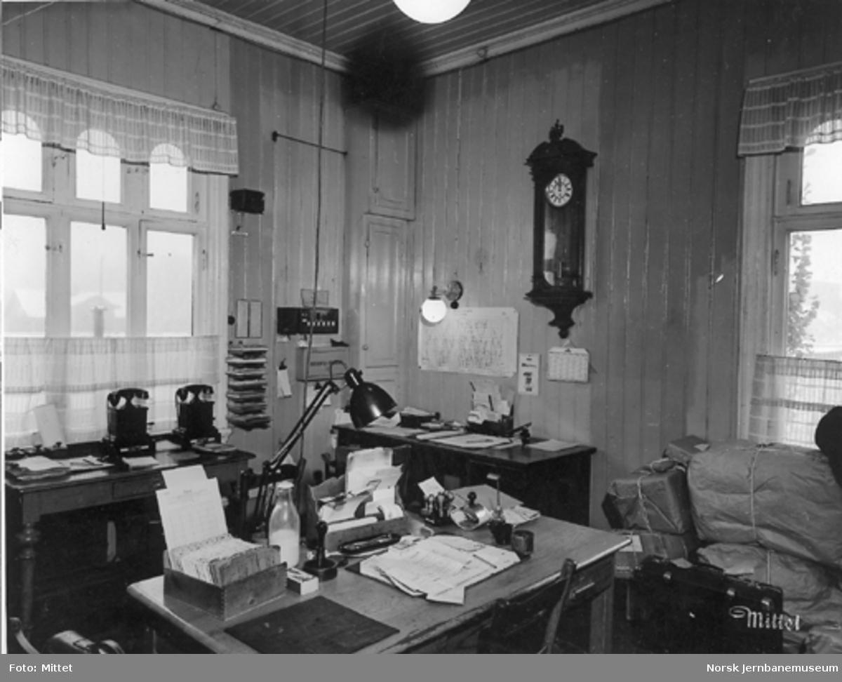 Stasjonskontoret på Kjelsås stasjon