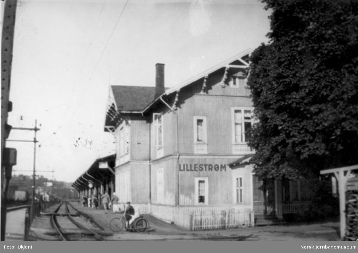 Lillestrøm gamle stasjonsbygning