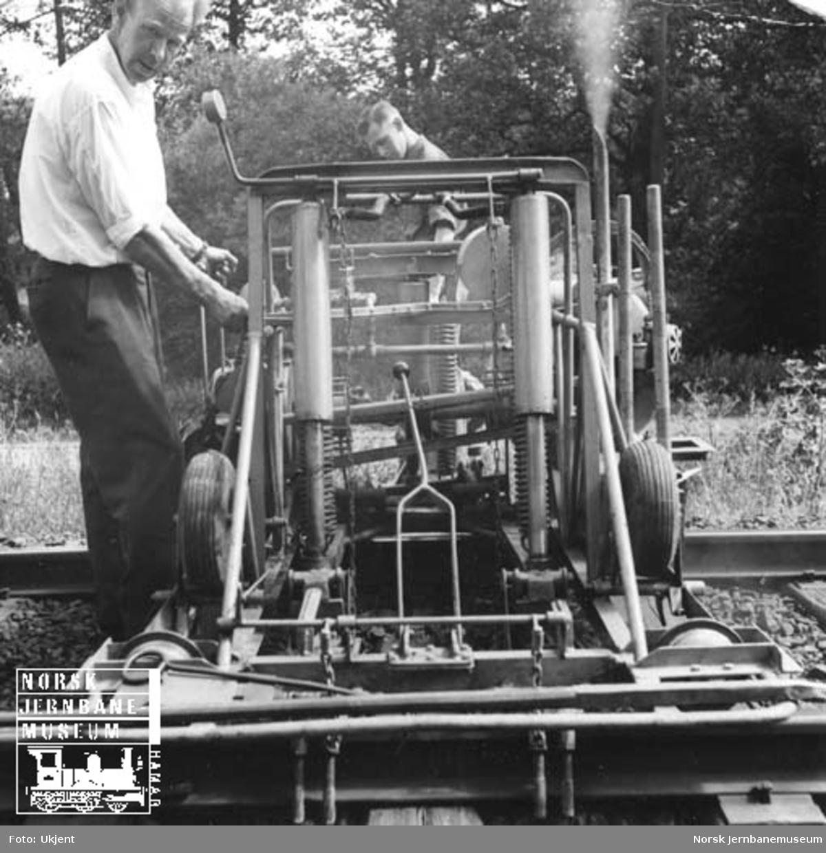 Svillebyttemaskin : Anderssons maskin