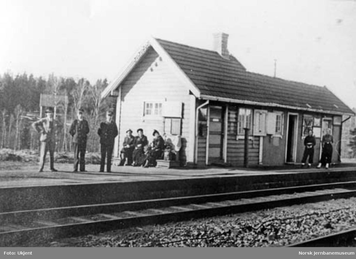 Langhus stasjon