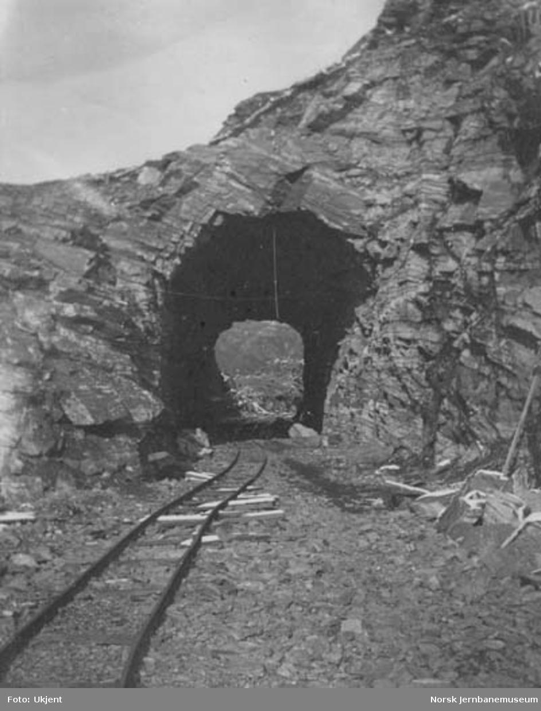 Ukjent tunnel på Bergensbanen