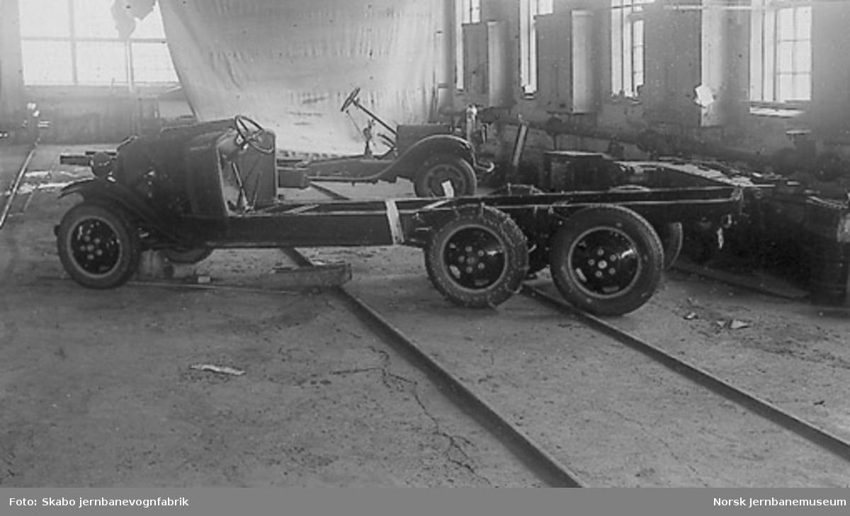 Ford AA, 6 hjuls Warford