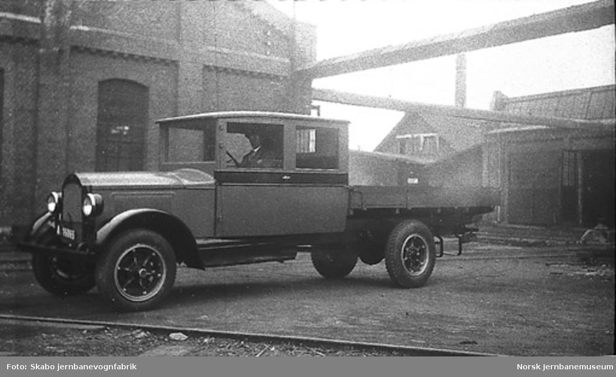 Kombinert Willys Knight lastebil til ukjent kunde