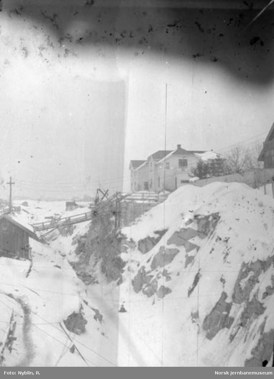 Skienstunnelen : nordre forskjæring