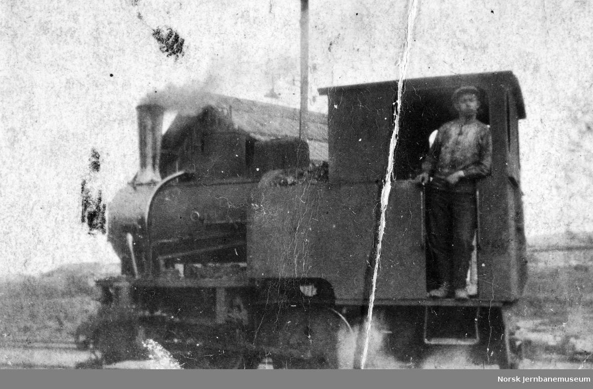 Damplokomotivet til Skedsmo sandforretning