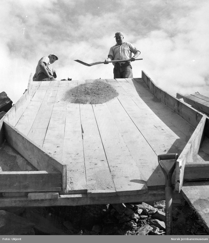 Bygging av for kulvert for Oteråga