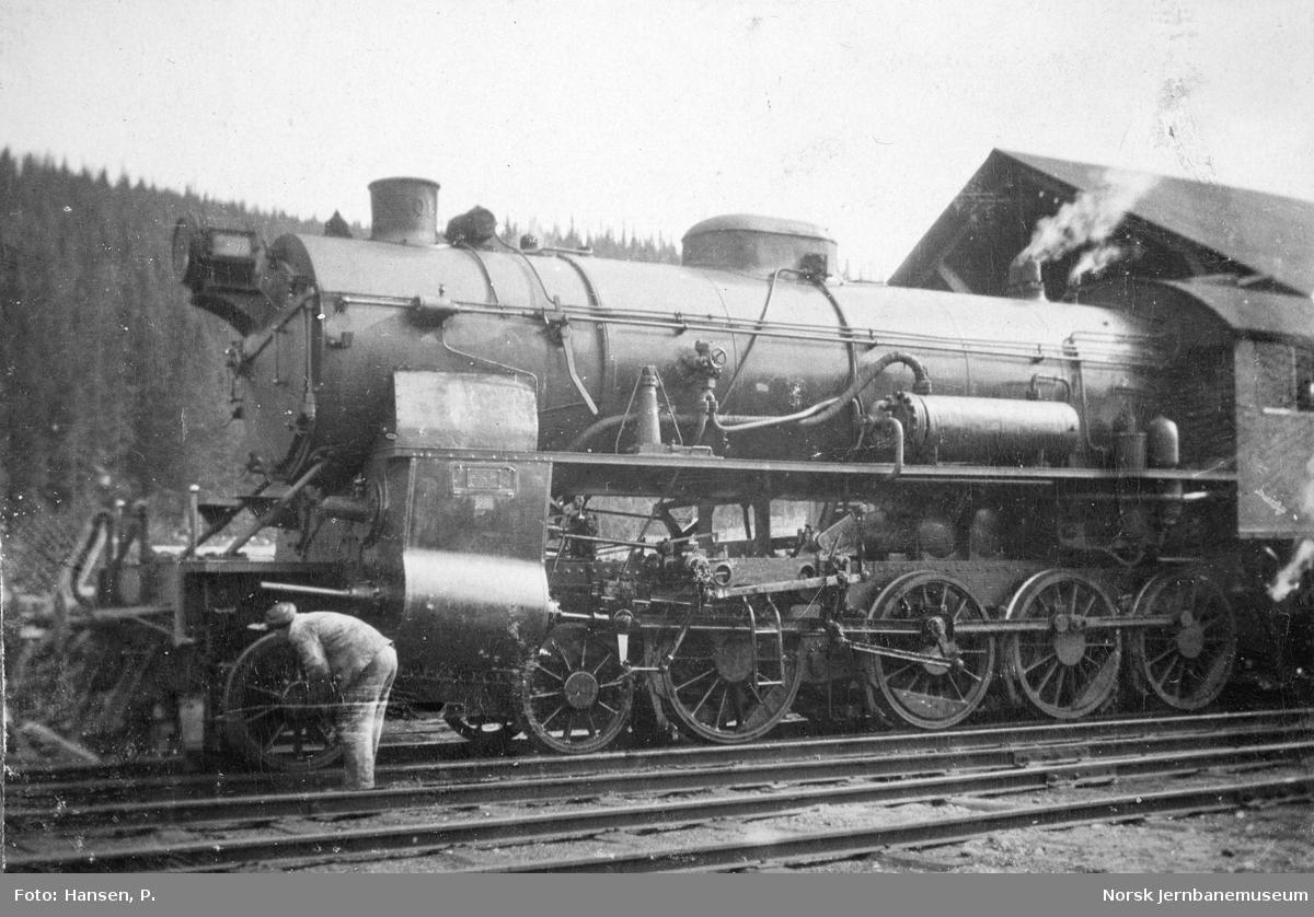 Damplokomotiv type 31b nr. 401