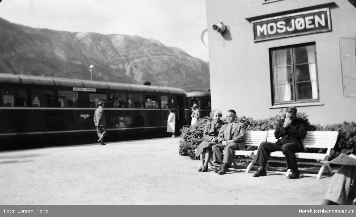 Mosjøen stasjon