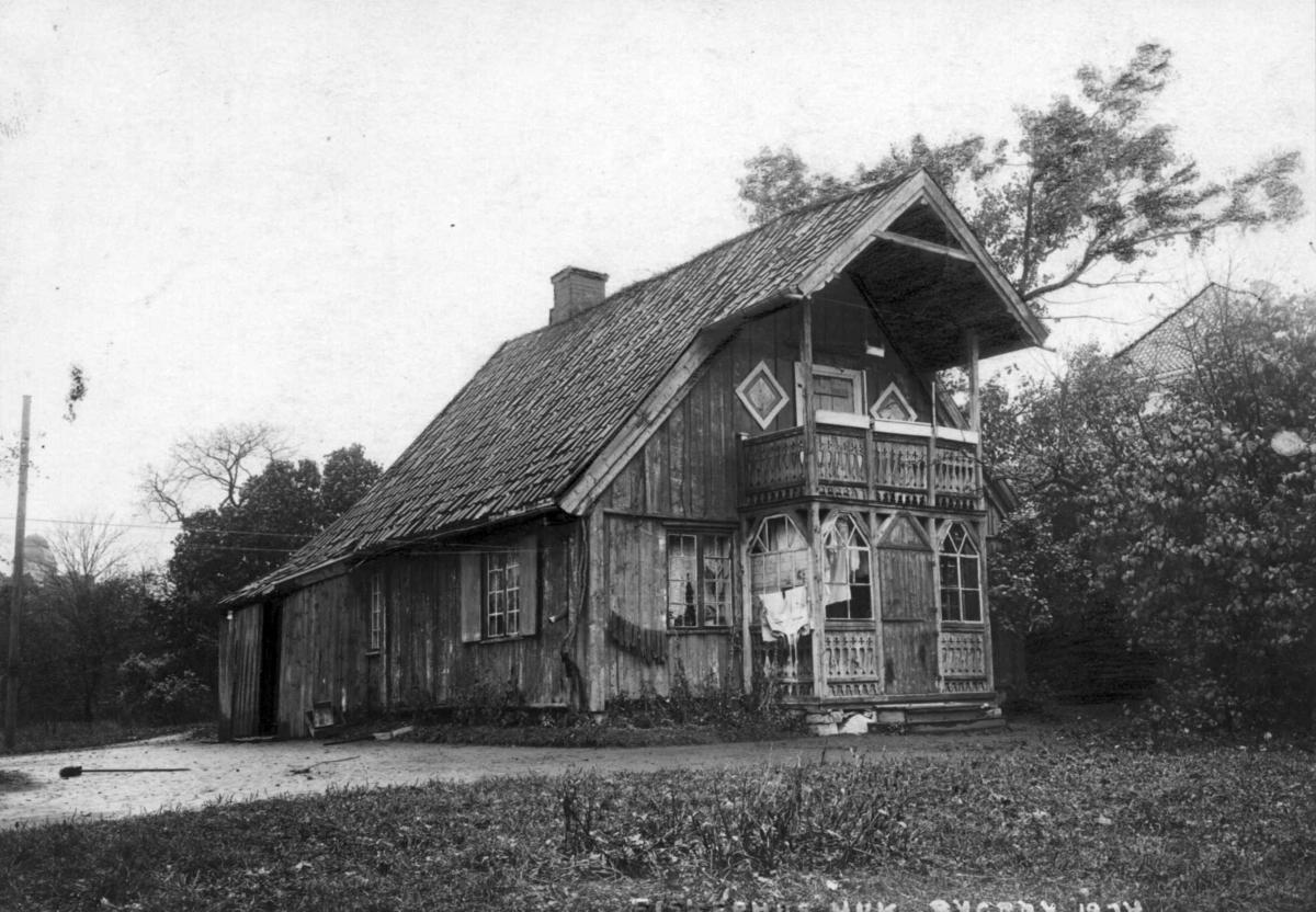 Fiskerhus på Huk, Bygdøy, Vestre Aker.