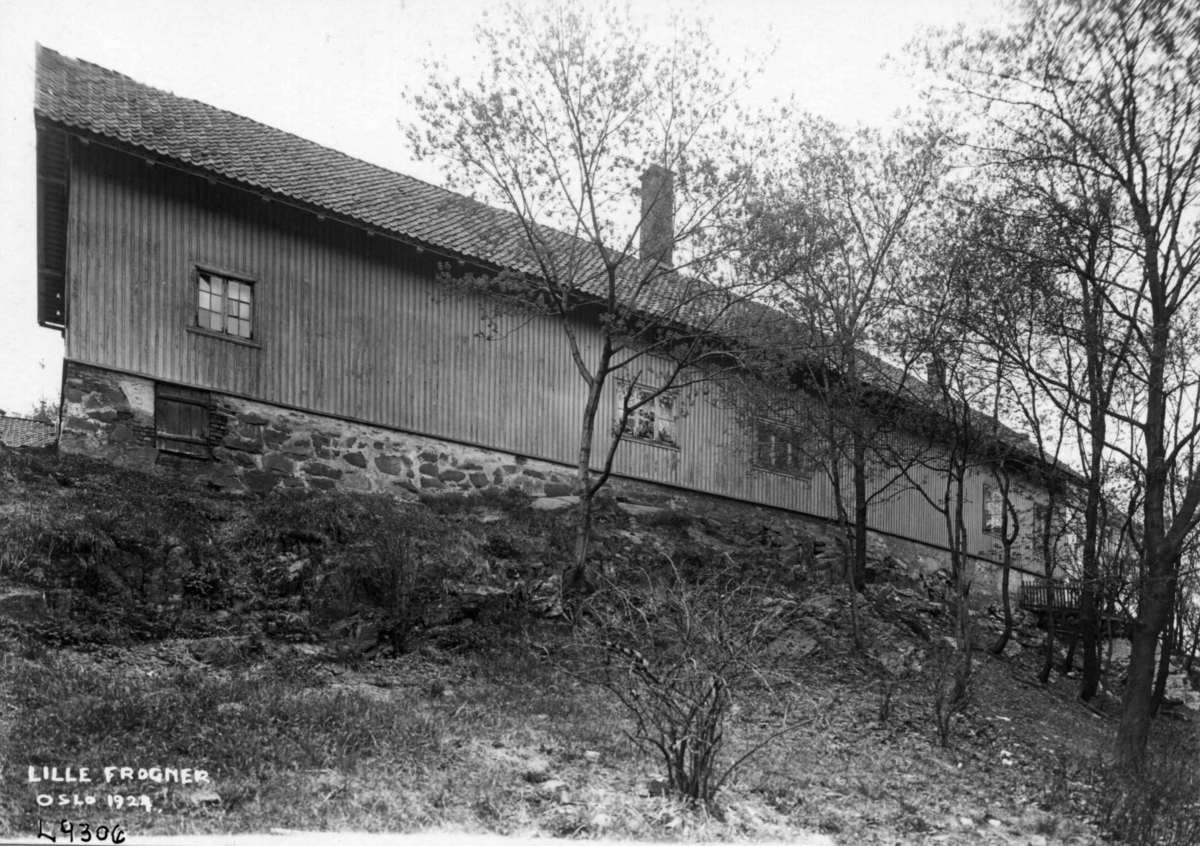 Sidebygning, Lille Frogner allé, Oslo.