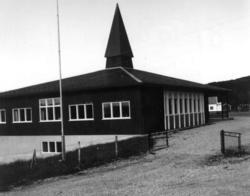 Tårnet skole, Jarfjord 1968.