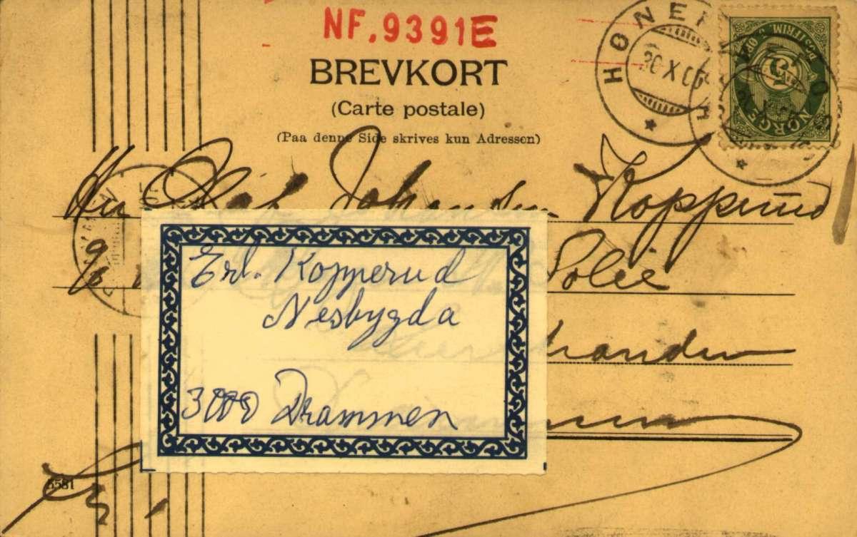 Postkort, Bursdagshilsen