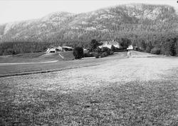 Flesberg prestegård, Numedal, Buskerud, 1906.