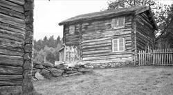 Husmannsplass, Nyenget, Lønset, Oppdal, Sør-Trøndelag. Fotog