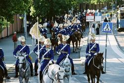Firandet av den svenska nationaldagen den 6 juni 2004. Korte