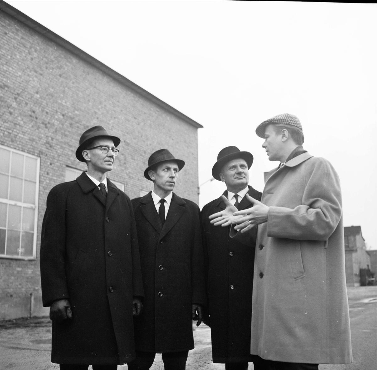 Finska gäster i Söderfors, Uppland 1966