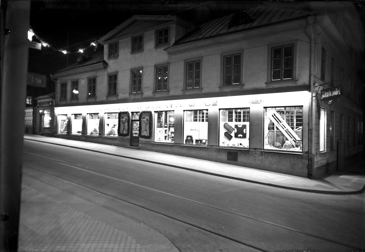 AB Wolrath & Co:s järnaffär, Svartbäcksgatan 14, Uppsala 1935