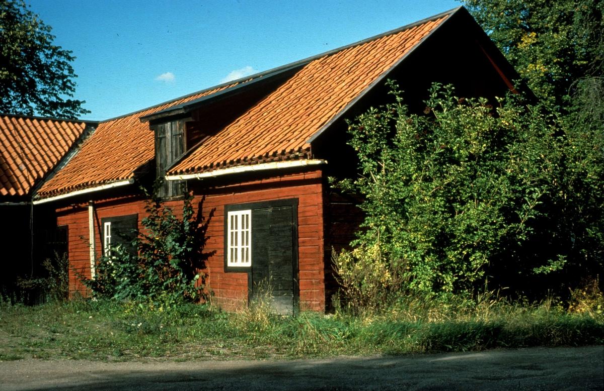Ekonomibyggnad, Lugnet, kvarteret Blåsenhus (nuvarande kvarteret Plantskolan), Uppsala 1979
