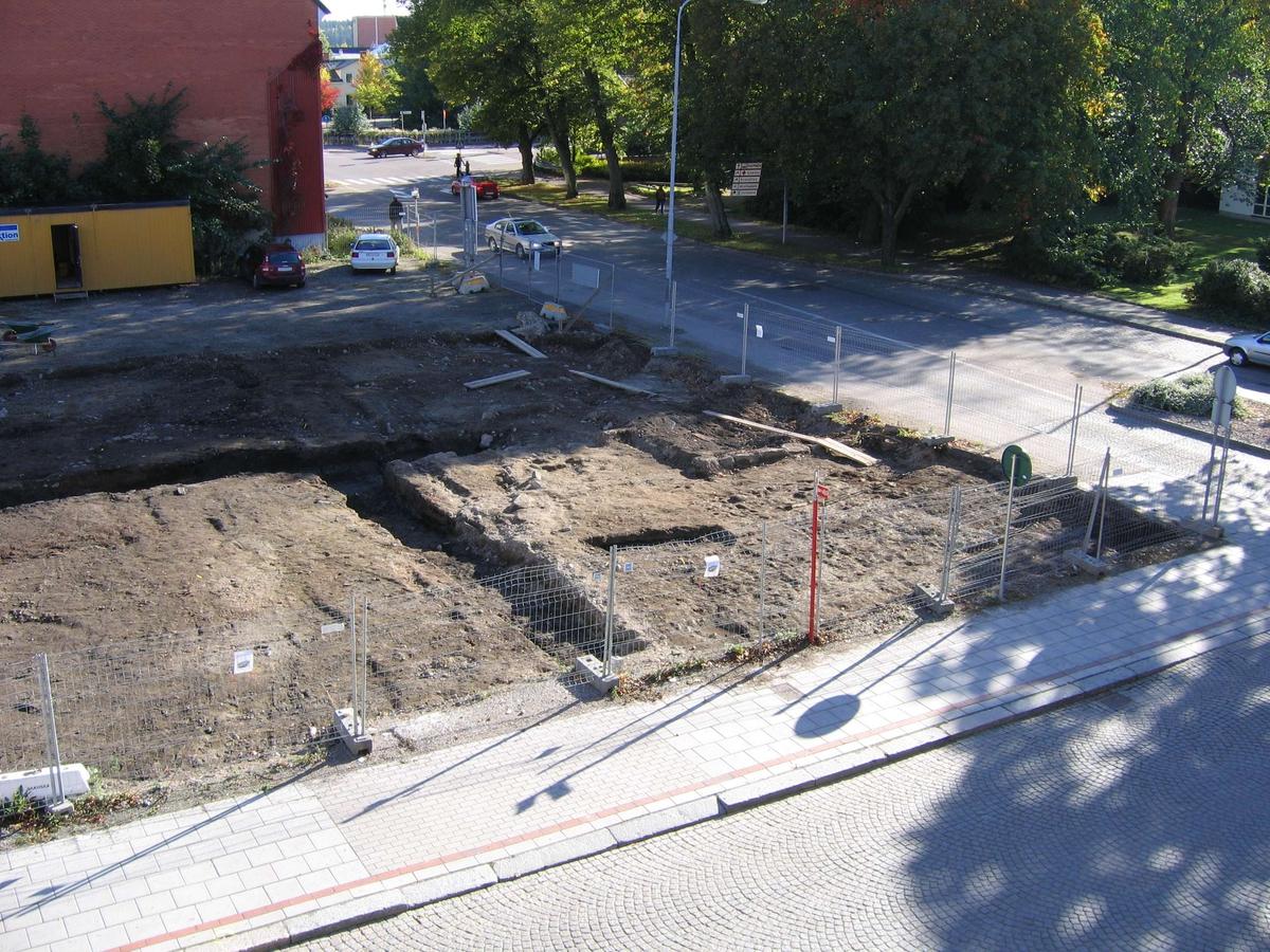 Undersökningsyta kvarteret Snickaren, Centrum, Enköping 2004