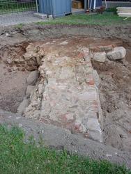Undersökning vid Riddartorget, Sankt Eriks kapell. Ett styck