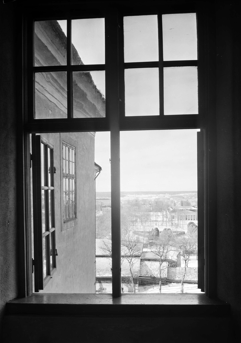 Uppsala slott, Uppsala - fönster med utsikt