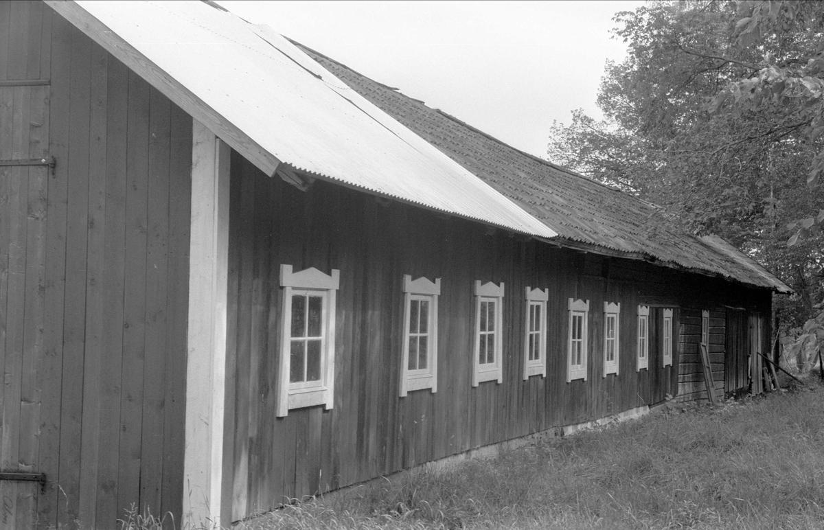 Garage, Lövsta 1:4, Bälinge socken, Uppland 1976