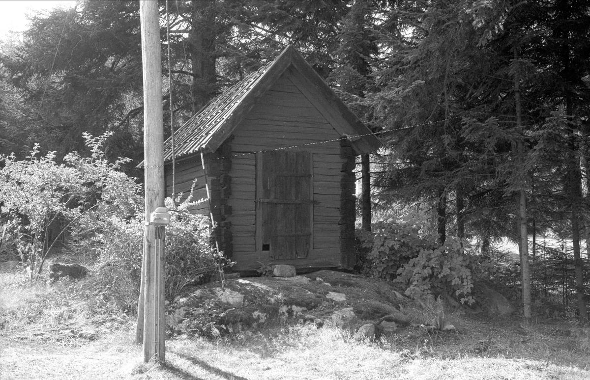 Rustkammare, Kättinge 1:5, Börje socken, Uppland 1983