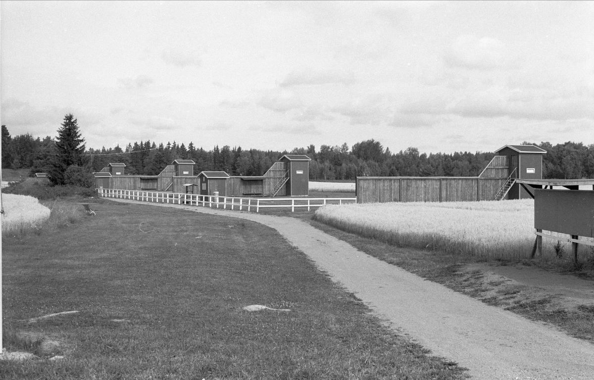 Skjutbanor, Ekebyboda 1:2-1:3, Börje socken, Uppland 1983