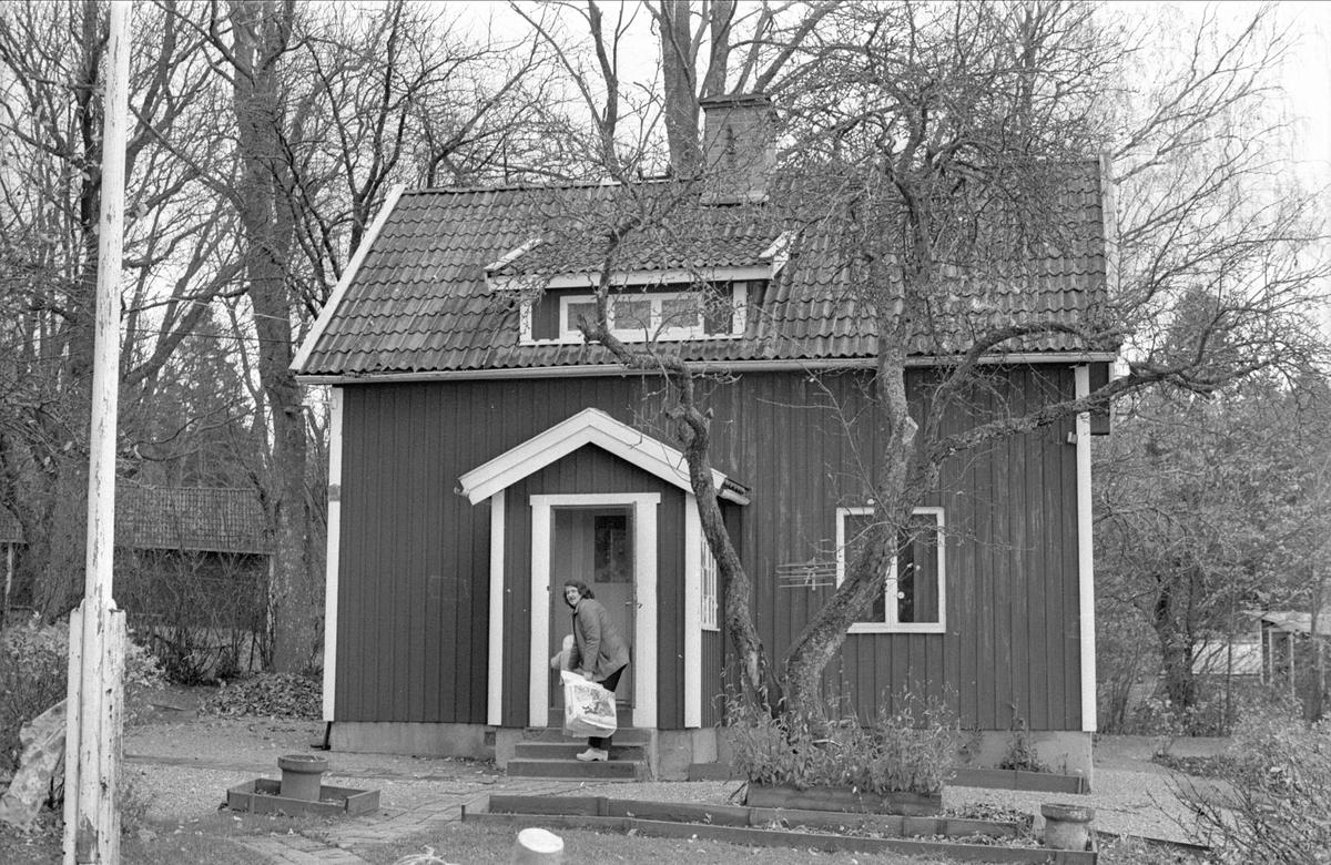 Bostadshus, Enstalund, Fullerö, Gamla Uppsala socken, Uppland 1978