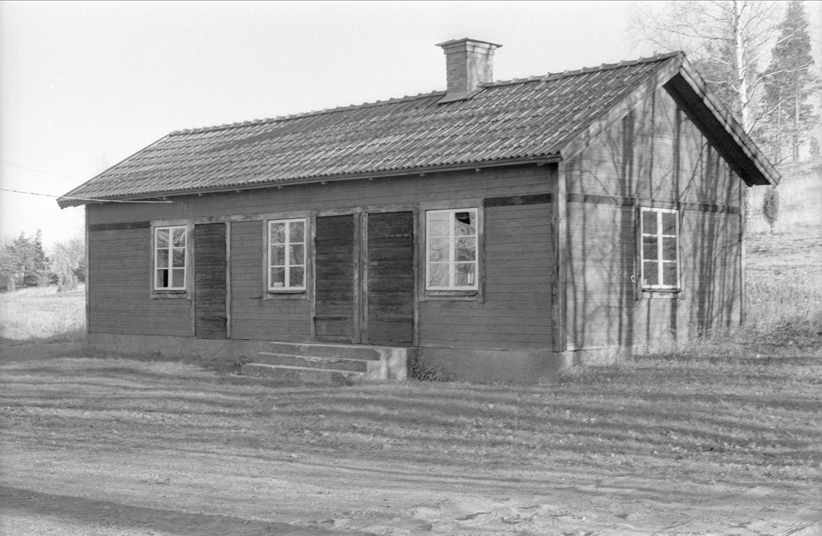 Brygghus/uthus, Lilla Myrby, Gamla Uppsala 75:4, Gamla Uppsala, Gamla Uppsala socken, Uppland 1978