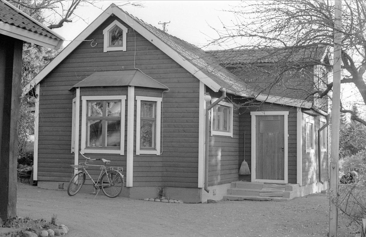 Bostadshus, Gamla Uppsala 80:1, Gamla Uppsala, Gamla Uppsala socken, Uppland 1978