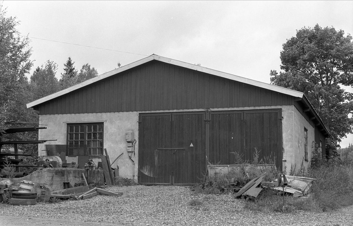 Garage, Hov 8:1, Rasbo socken, Uppland 1982
