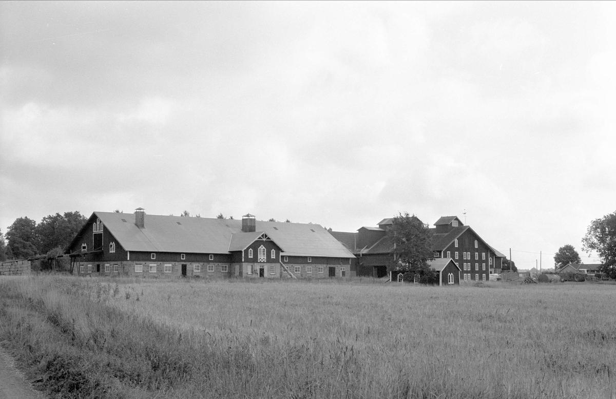 Vy över Henriksberg 7:1, Rasbo socken, Uppland 1982