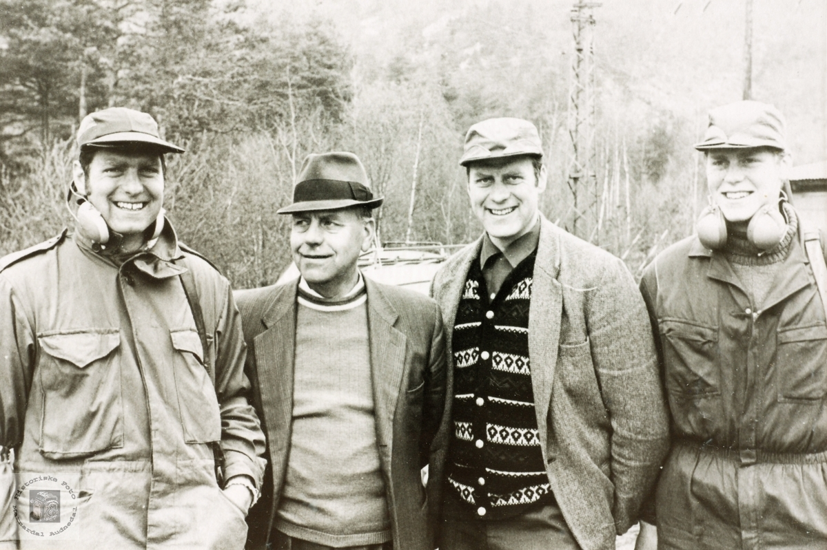 Familien Håland på skytterstevne.