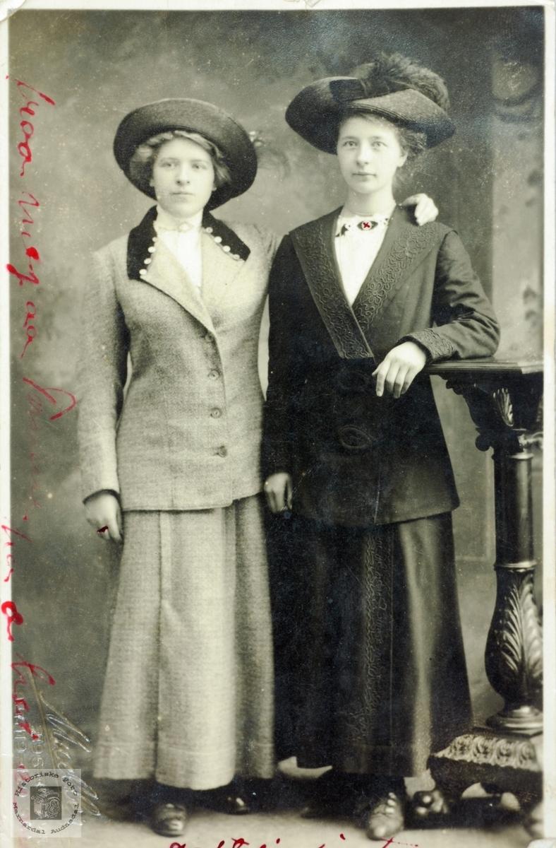 To fine damer fra USA muligens med røtter til Norge.