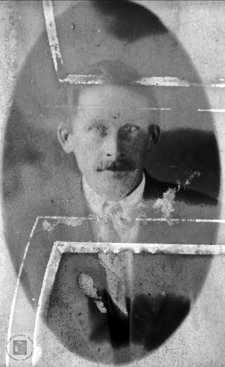 Portrett av Søren Homme, Bjelland.