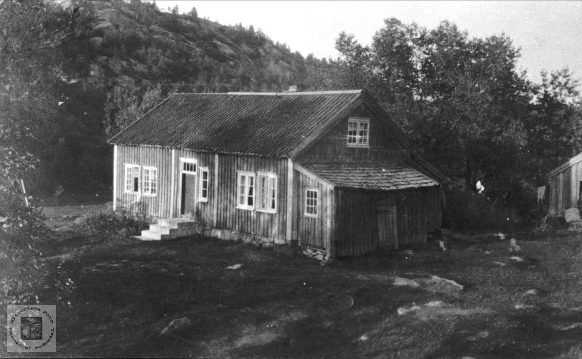 """Langågeren"" Breland i Øyslebø."