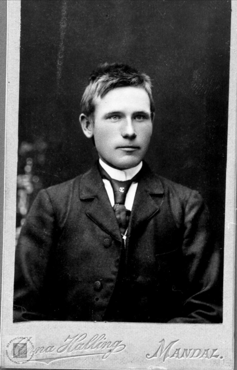Portrett av Gase Haraldstad, Bjelland.