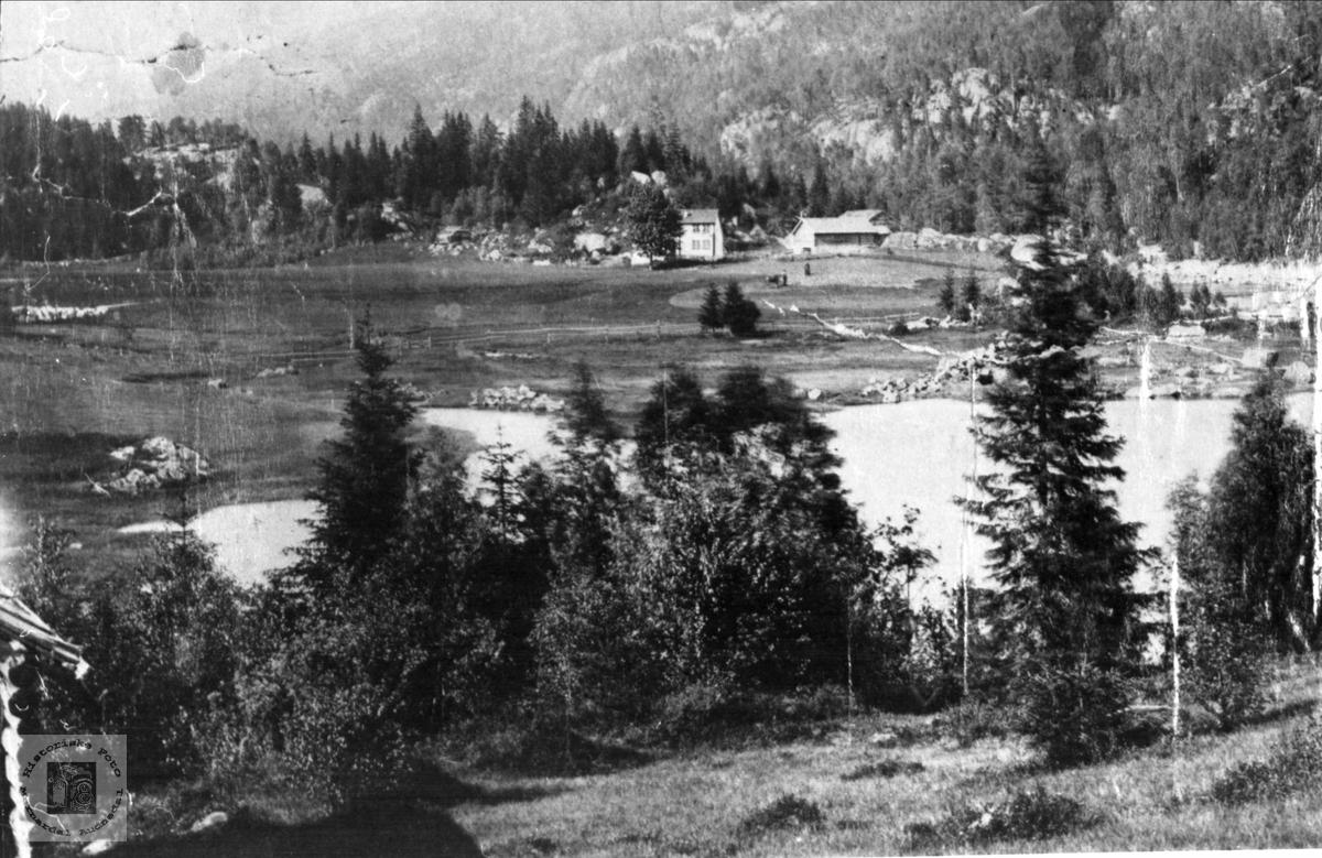 Utsikt over Sundet, Bjelland