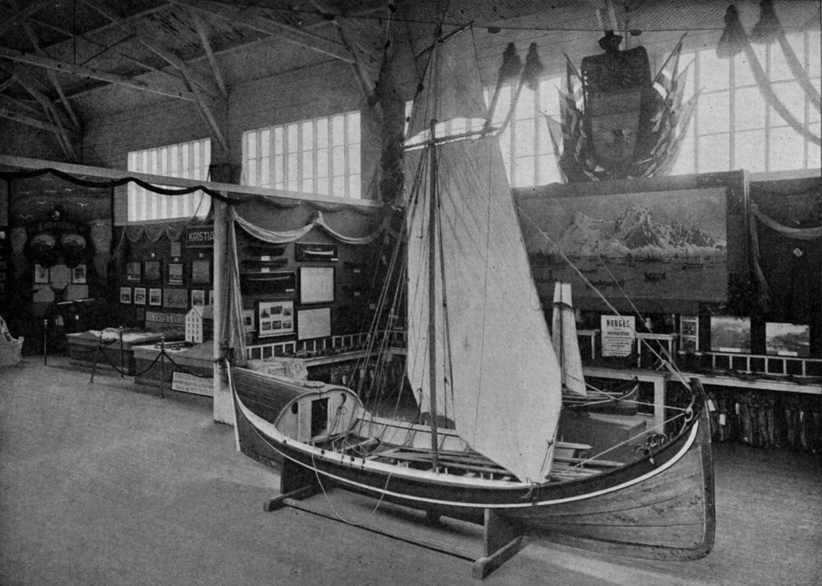 Nordlands AMTs utstilling. - Jubileumsutstillingen på Frogner 1914.