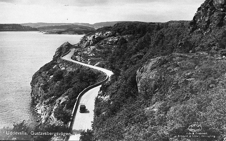 """""""Uddevalla. Gustavsbergsvägen""""."""