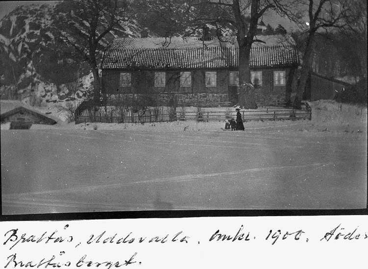 Brattås, Uddevalla, omkring 1900