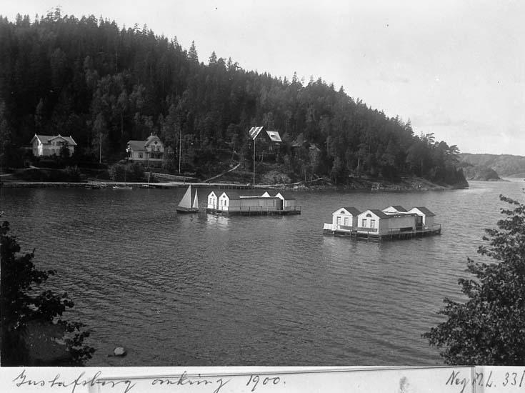 Kallbadhusen på Gustafsberg