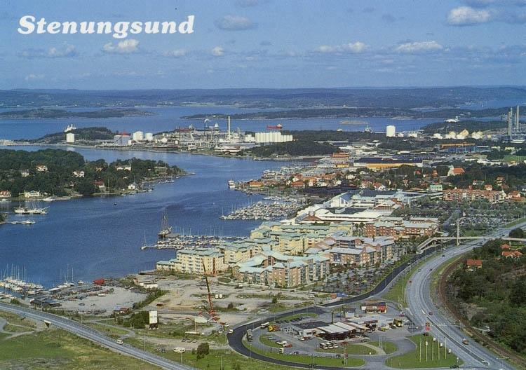 """""""Flygfoto. Stenungsund""""."""