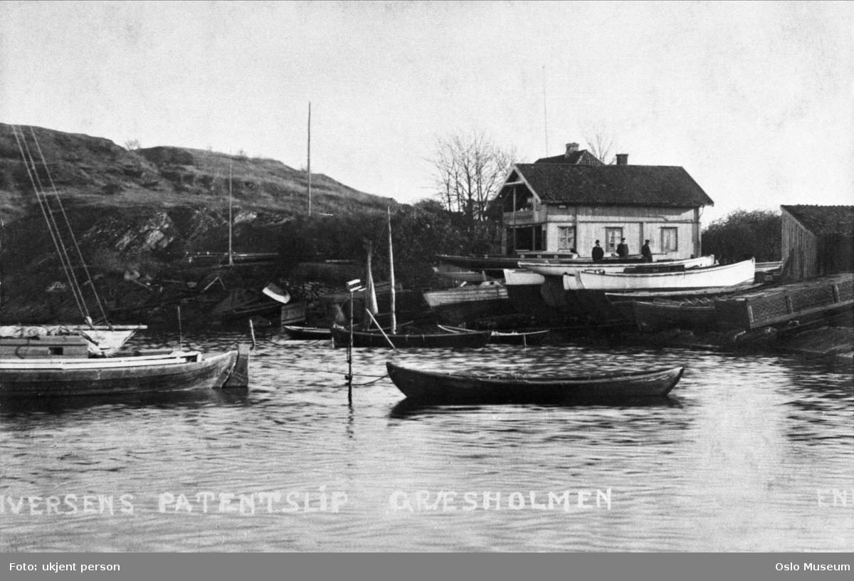 Iversens patentslipp, båtbyggeri, båter