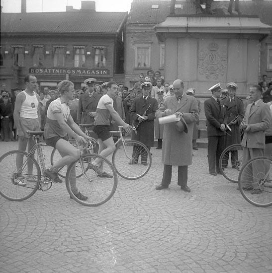 Cykeltävlingen Kungastaffeten 1947