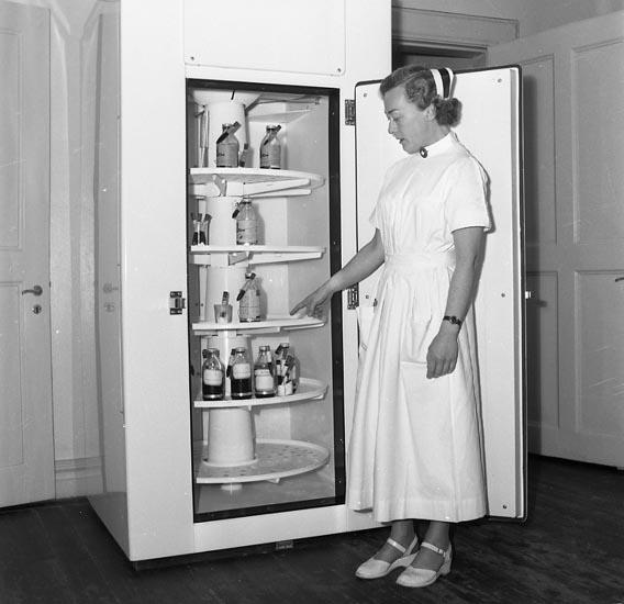 """Enligt notering: """"Sjuksköterskor blodgivare 23/9 1953""""."""