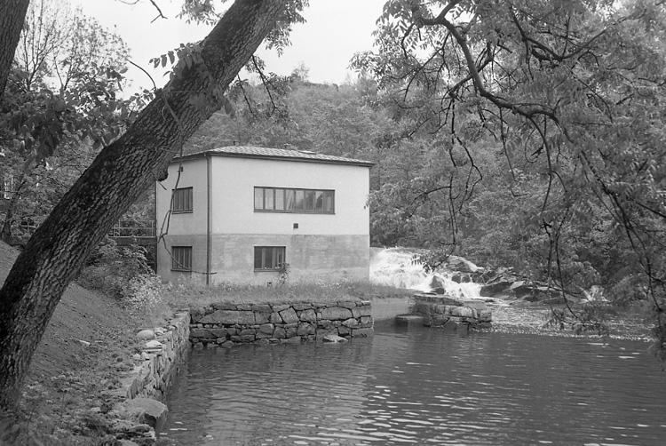 Elverket i Uddevalla den 13 juni 1956
