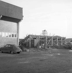 Ombyggnad Rimnersvallen 1956