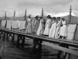 Marstrands Kallbadhus, dambassängen
